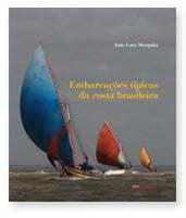 Capa do Livro Embarcações Típicas da Costa Brasileira